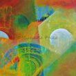 Bunte Welt - Acryl auf Leinwand - 80x60cm