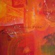 Feuerzauber - Acryl auf Leinwand - 80x60cm