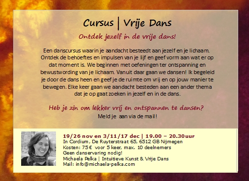 Flyer vrije dans nov-dec 15