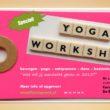Yogaworkshop 23.1.2015