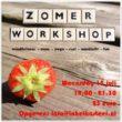 Zomerworkshop 15 juli 2015